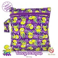 Milovia Nappy Wet Bags-Fancy octopus