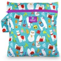 Milovia Nappy Wet Bags-Fluffy Alpaca