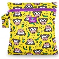 Milovia Nappy Wet Bags-Funky Monkey