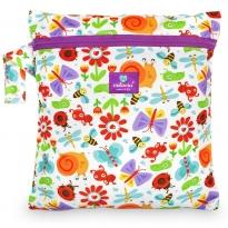 Milovia Nappy Wet Bags-Happy meadow