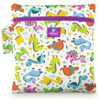 Milovia Nappy Wet Bags - Cool Dinos