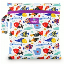 Milovia Unique Nappy Wet Bags - Fish Team