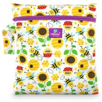 Milovia Nappy Wet Bags - Sweet Bee