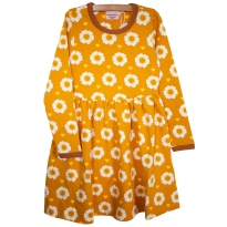 Moromini 70's Flower LS Twirly Dress