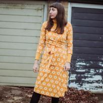 Moromini Adult 70's Flower Wrap Dress
