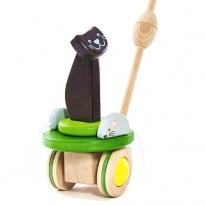 Bajo Mice & Cat Push Along