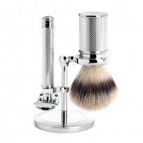 MÜHLE 3 Piece Shaving Set - Chrome