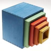 Glückskäfer Coloured Nesting Blocks