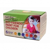 Natural Earth Paint Children's Earth Paint Kit