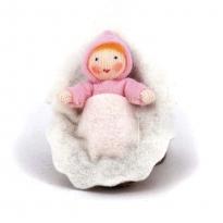 Ambrosius Pink Baby In Walnut
