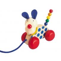 Selecta Nico Pull Along Dog