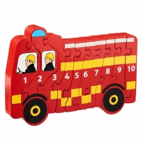 Lanka Kade Fire Engine 1-10 Jigsaw