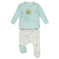 Piccalilly Honey Bee Two-Piece Set