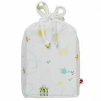 Piccalilly Honey Bee Moses Basket Sheet