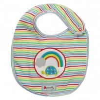 Piccalilly Rainbow Ark Classic Bib