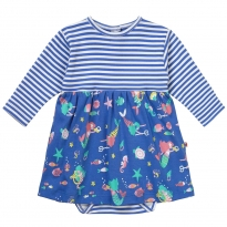 Piccalilly Mermaid Baby Body Dress