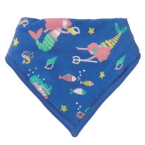Piccalilly Mermaid Bandana Bib