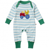Piccalilly Farmyard Applique Playsuit