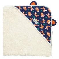 Piccalilly Fox Hooded Blanket
