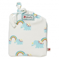 Piccalilly Rainbow Elephant Moses Basket Sheet