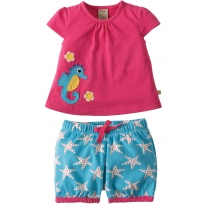 Frugi Seahorse Kea Smock Top Outfit