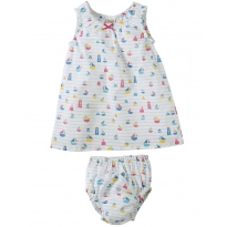 Frugi Sailaway Pretty Dress Set