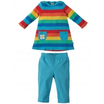 Frugi Rainbow Tunic & Leggings
