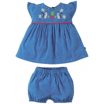 Frugi Chipmunks Waterfall Woven Outfit