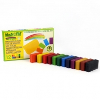 OkoNorm 12 Coloured Wax Blocks