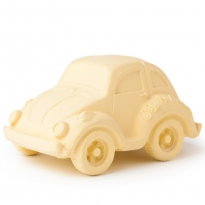 Oli & Carol Small Beetle Car - Vanilla