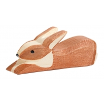 Ostheimer Spotted Brown Rabbit - Lying