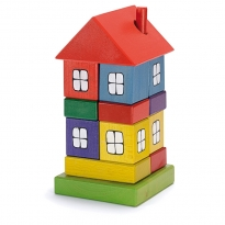 Ostheimer Multi Coloured House