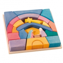 Ostheimer Rainbow Nativity Blocks