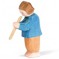 Ostheimer Son Playing Flute