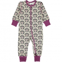 Maxomorra Dog LS Zip Romper