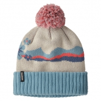 Patagonia Powder Town Beanie - Arctic Floral Knit: Oyster White