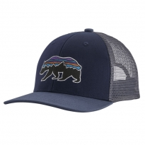 Patagonia Trucker Hat - Bear: Classic Navy