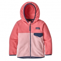 Patagonia Micro D Snap-T Fleece Jacket - Rosebud Pink