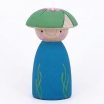 Peepul Lily Pad Peg Doll