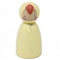 Peepul Easter Chick Peg Doll