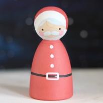 Peepul Santa Peg Doll