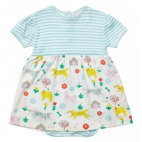 Piccalilly Dogs Day Baby Body Dress
