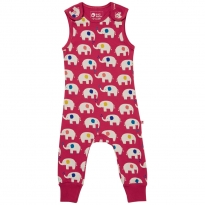 Piccalilly Elephant Dungarees