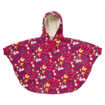 Piccalilly Enchanted Forest Reversible Poncho