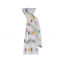 Piccalilly Jungle Spot Muslin Swaddle