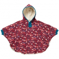 Piccalilly Bunny Print Poncho