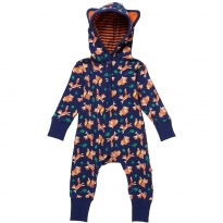 Piccalilly Fox Hooded Playsuit