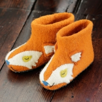Piccalilly Fox Slippers