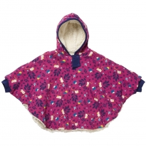 Piccalilly Mouse Print Poncho