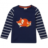 Piccalilly Sleeping Fox Tee